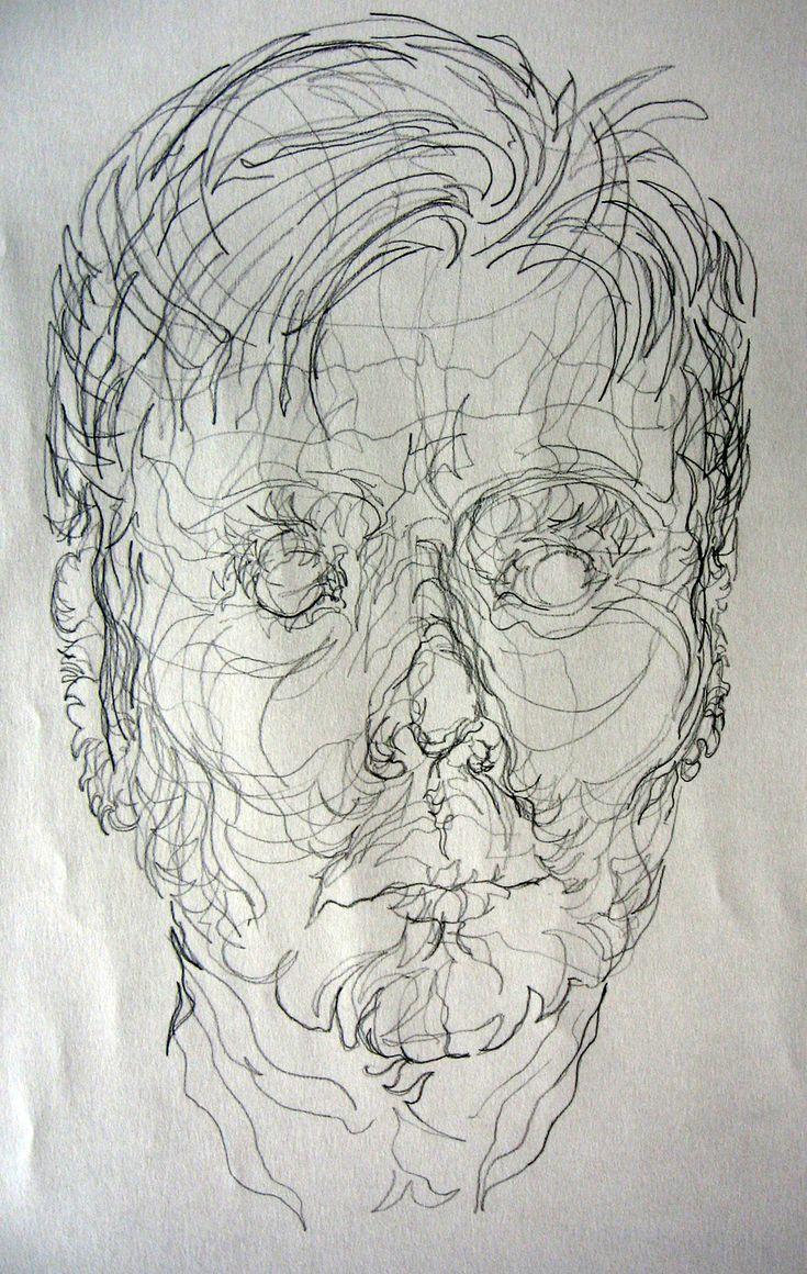 Contour Line Drawing Figure : Best images about contours on pinterest portrait