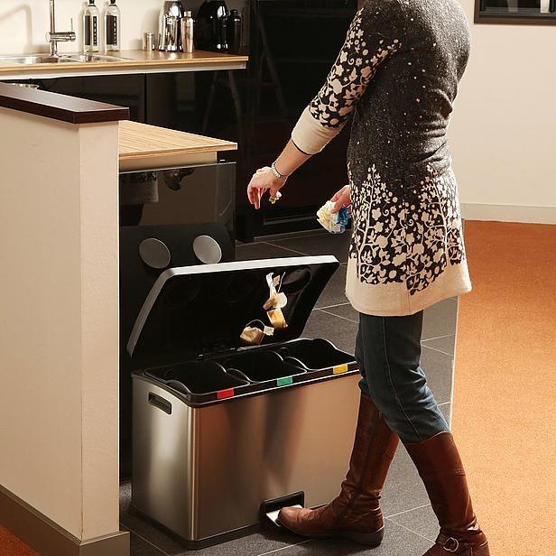EKO Recycle Rejoice Step Bin, 3 x 12 liter pedaalemmer? Bestel nu bij wehkamp.nl