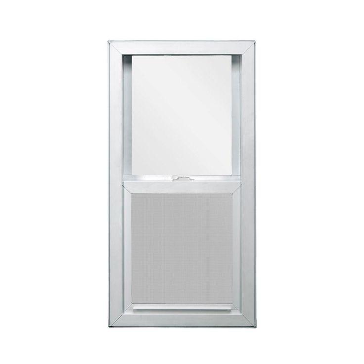 JELD-WEN 29.5 in. x 35.5 in. V-4500 Series Single Hung Vinyl Window - White