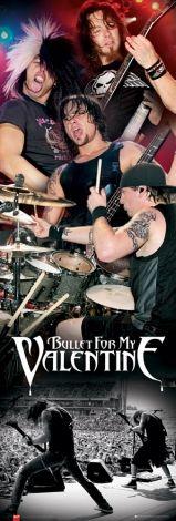 Bullet For My Valentine Live - plakat - 53x158 cm  Gdzie kupić? www.eplakaty.pl