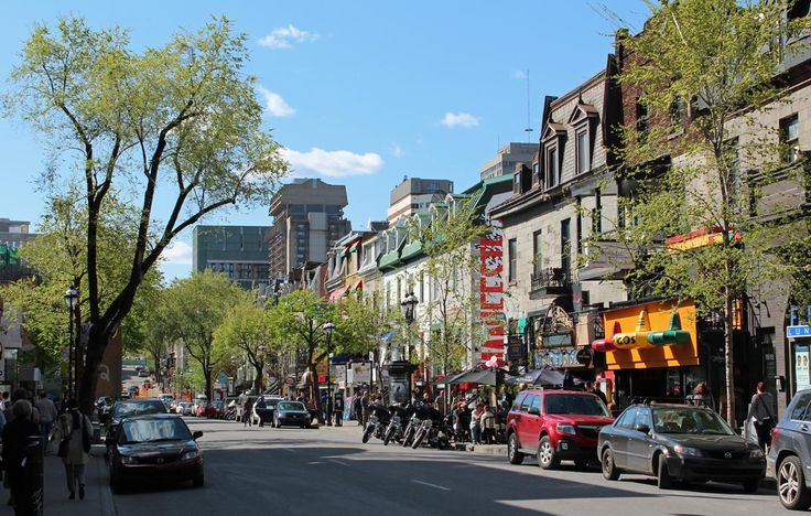 Montreal's Saint-Denis Street Will Be Transformed Into A BMX-Mountain Biking Track Today | MTL Blog