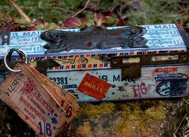The Artistic Stamper Creative Team Blog: Air Mail box: By Zuzu