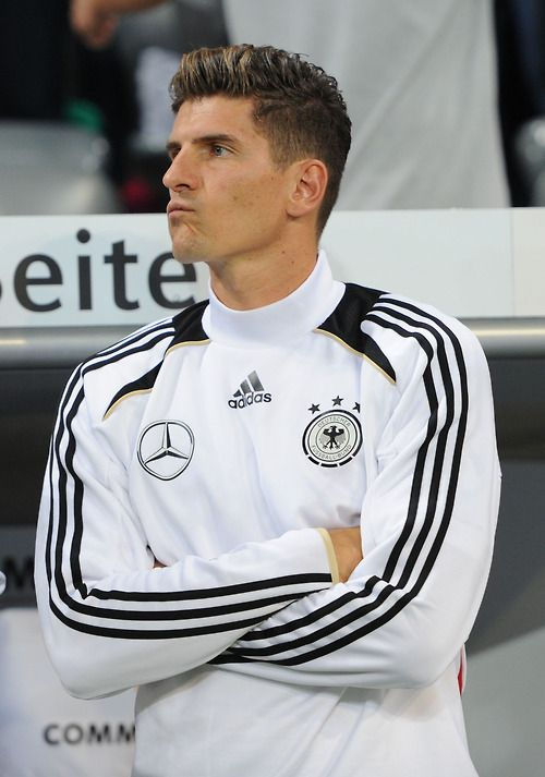 The always handsome Mario Gomez for Die Mannschaft.