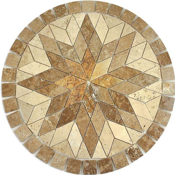 Polaris Decorative Medallion Ceramic Flooringfloor