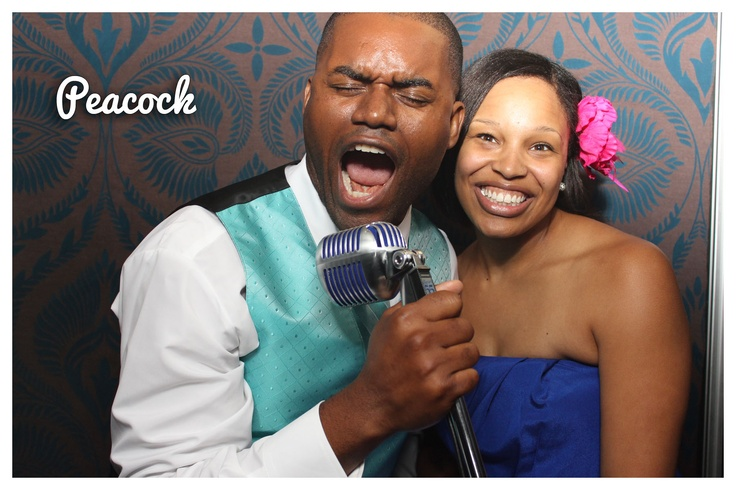 Peacock #photobooths #dim