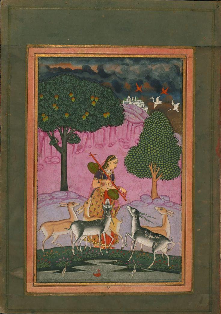 Deccani Miniature Ragamala Album (W. 669 - The Digital Walters) 18th-19th centuries