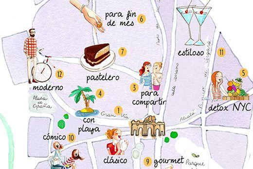 Nuevo mapa de los mejores brunch en Madrid | Madrid Confidential