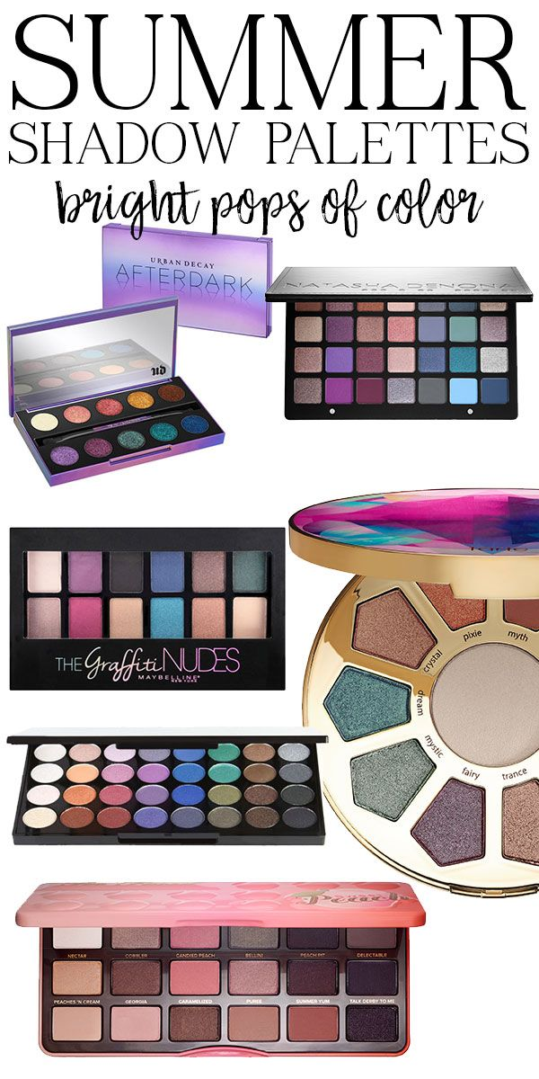 #ad The Best Colorful Eyeshadow Palettes