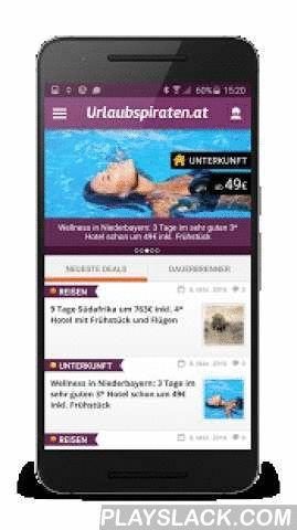 Urlaubspiraten.at  Android App - playslack.com ,  Du brauchst Urlaub? Du suchst günstige Flüge, Reisen, Hotels oder Reise-Gutscheine? Haben wir alles! Mit unserer brandneuen App bekommst du die neuesten Reiseschnäppchen von Urlaubspiraten.at direkt in die Hand geliefert. Aber das bequeme mobile Durchstöbern unserer Reisedeals ist nicht alles – erstelle deinen eigenen Reise-Alarm, und wir informieren dich, sobald wir deine Wunschreise gefunden haben! Einfacher geht's nicht: Sag' uns einfach…