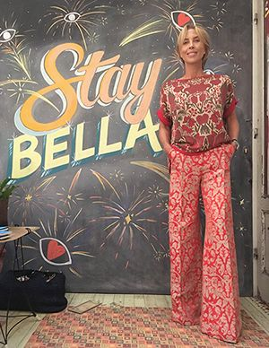Wait and See -TATJANA in SOHO DE LUXE top ERIKA CAVALLINI trousers