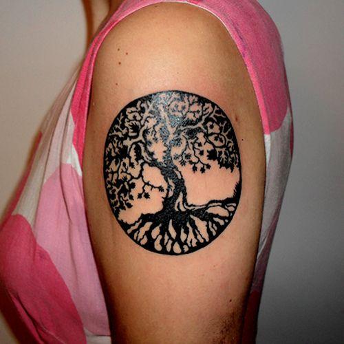 Tatuajes de �rboles y su significado