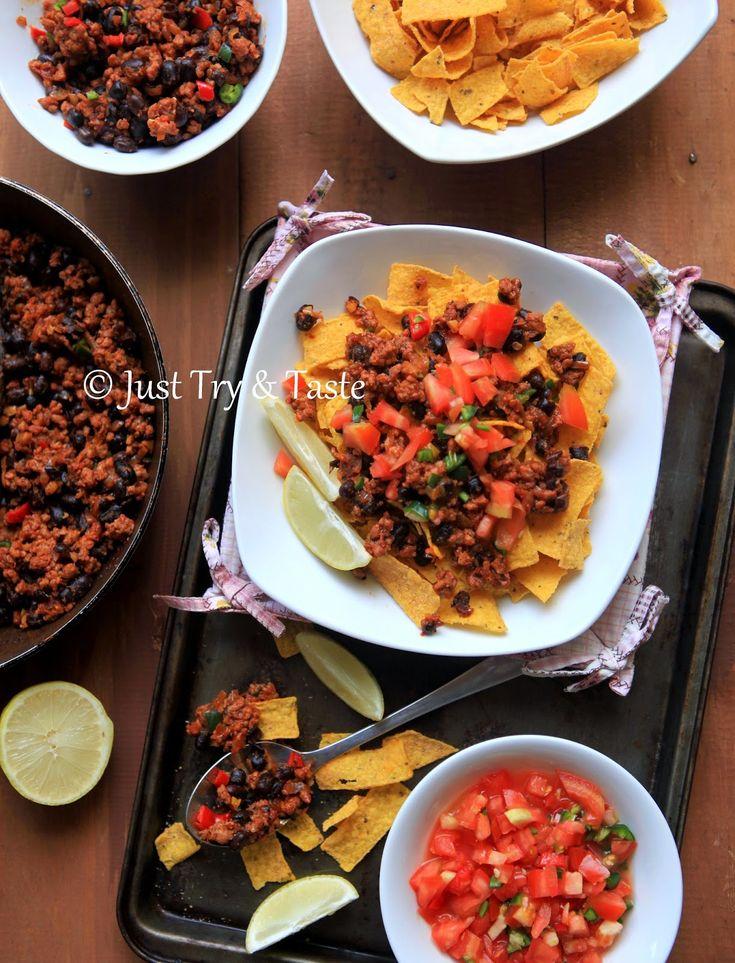 Resep cara membuat nachos daging sapi masakan khas meksiko