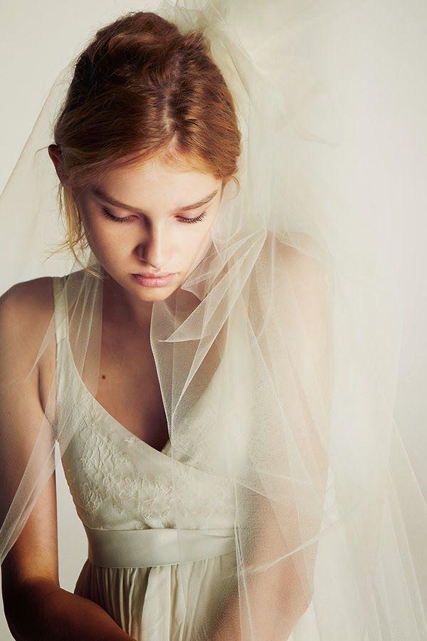 Cool Chic Style Fashion: Weddings   Bridal Dress Orlane Herbin 2013   Deuxieme Classe