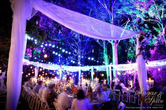 Enchanted Garden Wedding Rainforest Wedding Outdoor