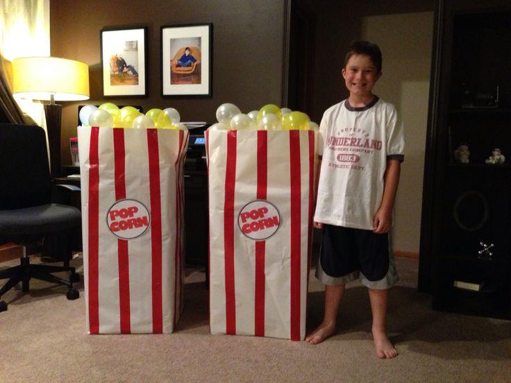 Giant popcorn - love it!