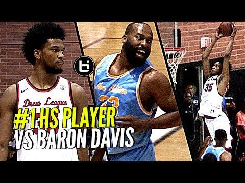 Marvin Bagley III was back at it again in the Drew League today, this time against former NBA great, Baron Davis. Marvin finished the game with 30 points and 9 rebounds for LA Loop. ——————————— Follow Us On...