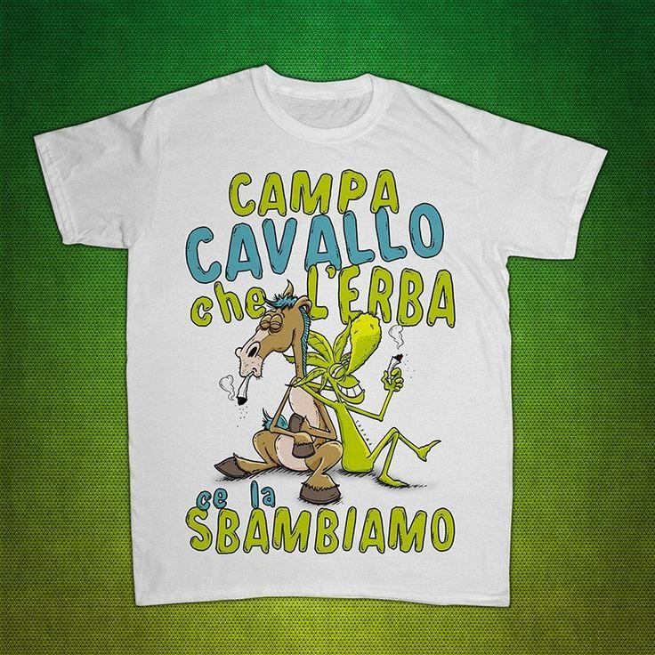 T-shirt Marijano modello CampaCavallo
