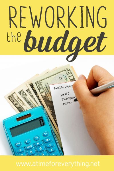 Reworking your BUDGET via A Bowl Full of Lemons & A Time For Everything