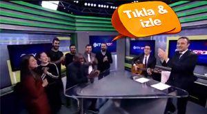 NTV Spor'da Demba Ba sürprizi