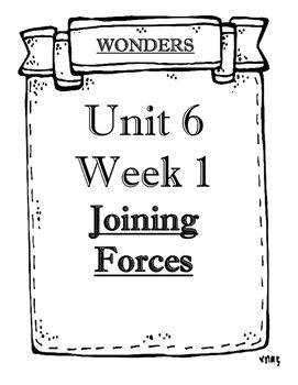 Wonders 2014/2017 edition Grade 5 Objectives Unit 6 Weeks