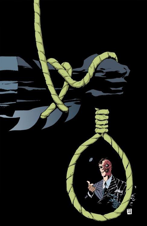 Batman: Dark Victory #0 by Tim Sale