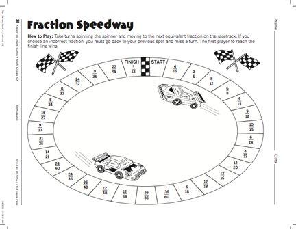 105 best Math: Equivalent Fractions images on Pinterest   Math ...