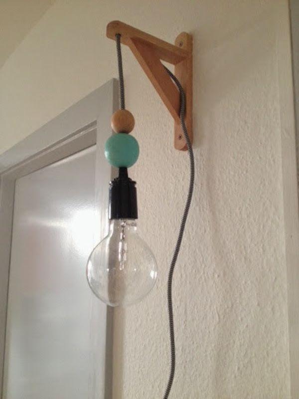 DIY: Lampe | Fantasifabrikken blog