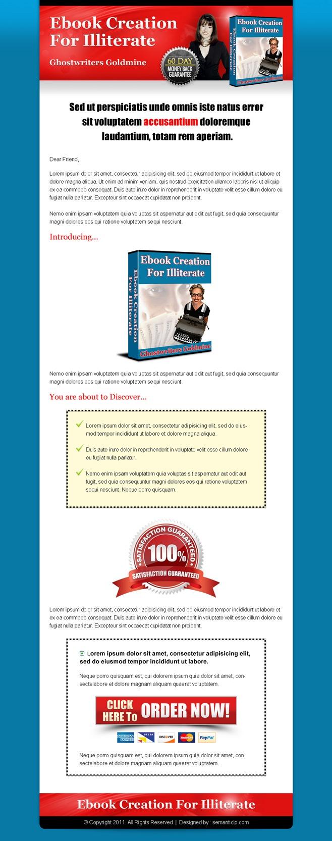 High converting professional sales page design inspiration. | Web Design, Landing Page Design & Website Templates Blog