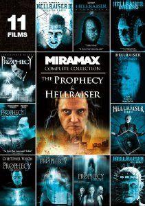 Amazon.com: The Prophecy & Hellraiser (Complete Collection): Craig Sheffer, Nicholas Turturro, Elias Koteas, Adam Scott, Christopher Walken, Terry Farrell: Movies & TV $8