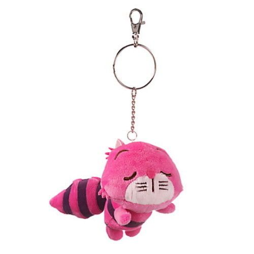 Disney Store Cheshire Cat Plush Keychain