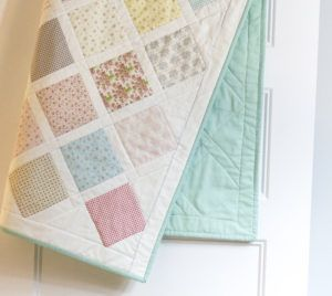 Fresh Babe, Fresh Baby Quilt! ~ Country Rose Quilting