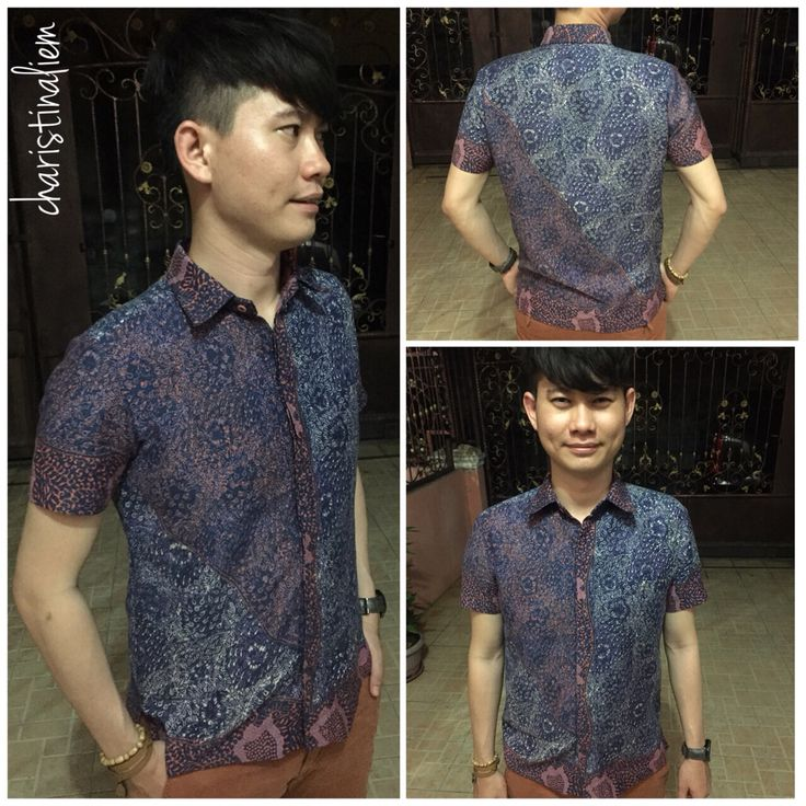Batik collection for man.  Contact us 081231468692