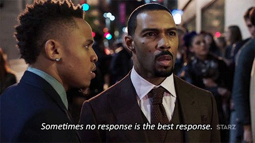 New trending GIF on Giphy. tv ghost power serious starz tv series dre omari hardwick thats right james st. patrick straight face no response rotimi sometimes no response is the best response. Follow Me CooliPhone6Case on Twitter Facebook Google Instagram LinkedIn Blogger Tumblr Youtube
