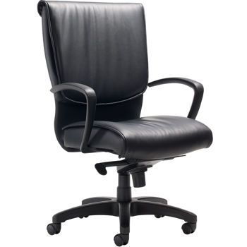 The ergonomic knee-tilt/swivel with five recline locking positions provides you with support in any seated position.  Comfort, beauty, outstanding ergonomic features, and a limited lifetime warranty, all at an affordable price.