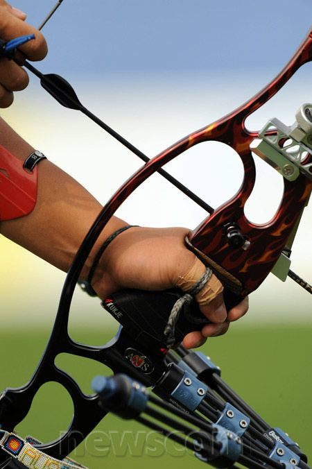 Olympic Sports   ... Sports equipment Sports Archery Equipment Handle Recurve Olympic Games