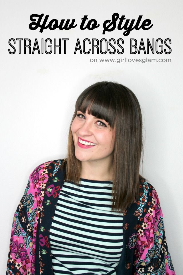 how to style straight hair with bangs how to style across bangs monday bangs 4896 | 5d82c60727adc5dbf85994437dfe323c monday again straight across bangs