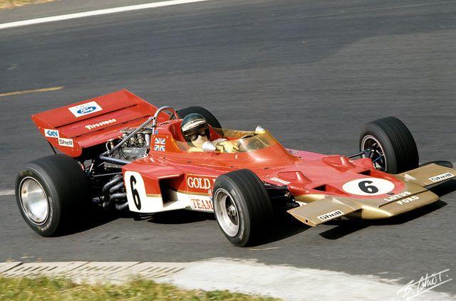 1970 Jochen Rindt, Gold Leaf Team Lotus, Lotus 72 Ford