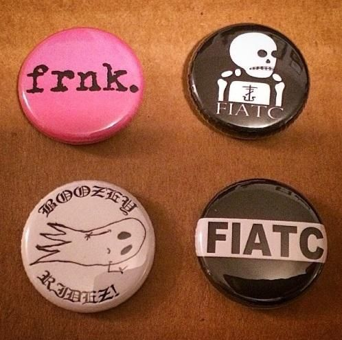 frnkiero andthe cellabration, Spring 2015 tour merch, 1 of the new button packs shown. (I want this so much; they better still have them for the later shows!)