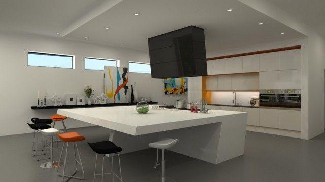 кухня с островом в современном стиле фото: 25 тыс изображений найдено в Яндекс.Картинках