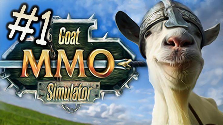 PewDiePie - GOAT MMO // MICROWAVE GOAT?! - Goat Simulator - Part 1