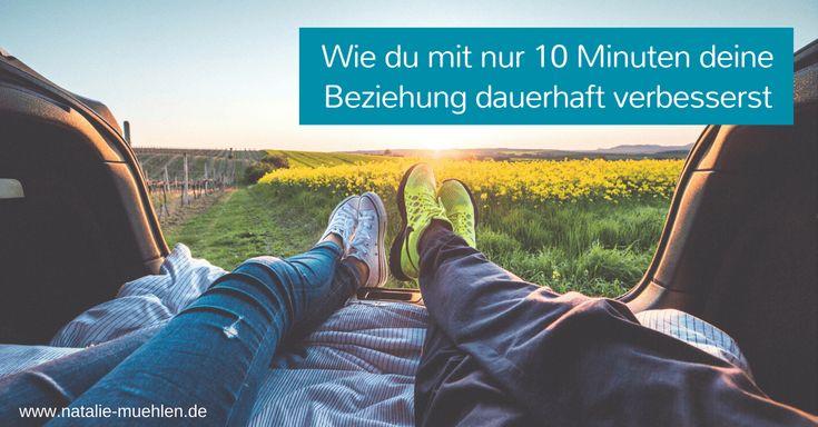 Liebe, Nähe und Vertrauen - das wünscht sich jeder. Wie ist das einfach zu bekommen? Diese 10 Min. pro Woche können deine Beziehung verbessern. Dauerhaft!