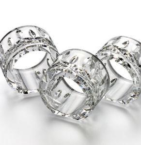 Waterford Crystal Lismore Napkin Rings