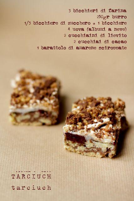 - VANIGLIA - storie di cucina: il lunedì delle amiche: torta polacca della mia amica Malgorzata: il Tarciuch!!!