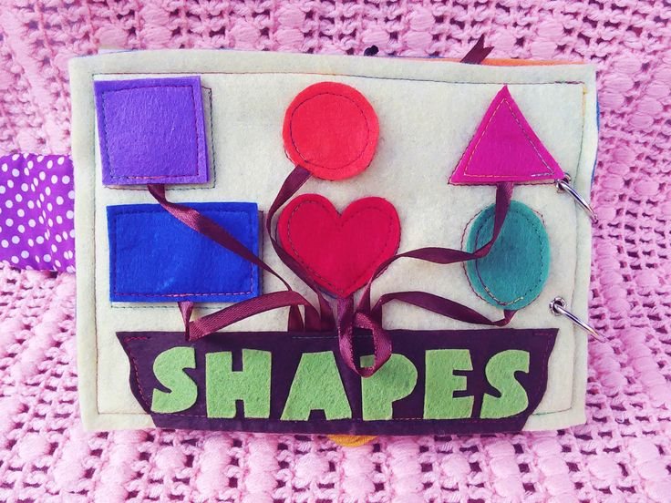 Activity 7 - Shapes around us  * Matching shapes * Define colours #busybook