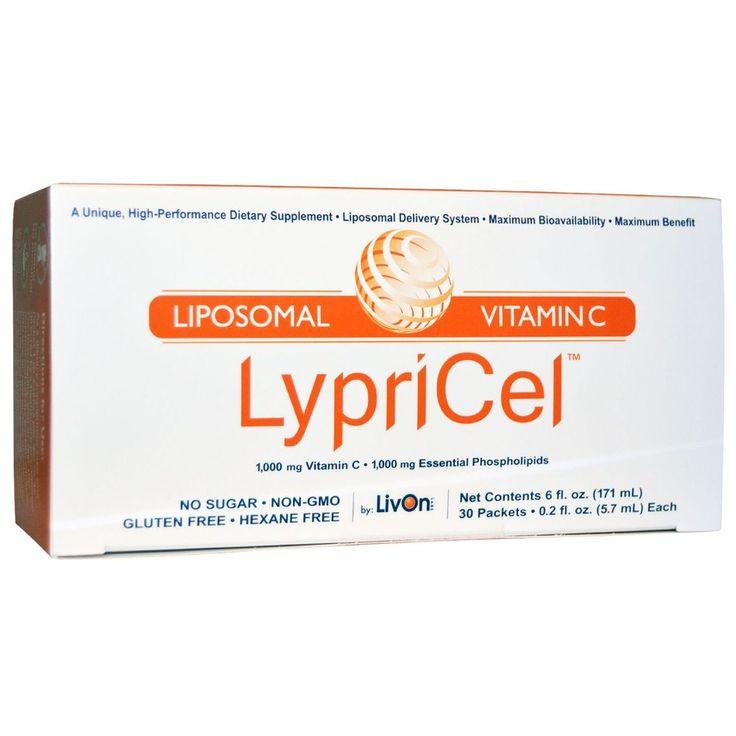 LypriCel, Liposomal Vitamin C, 30 Packets, 0.2 fl oz (5.7 ml) Each