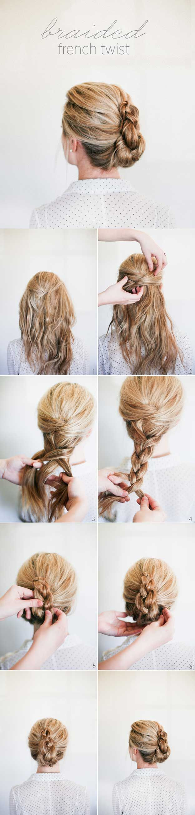 Best Hairstyles For Your 30s -Braided French Twist- Hair Dos And Don'ts For Your 30s, With The Best Haircuts For Women Over 30, Including Short Hairstyle Ideas, Flattering Haircuts For Medium Length Hair, And Tips And Tricks For Taming Long Hair In Your 30s. Low Maintenance Hair Styles And Looks For A 30 Year Old Woman. Simple Step By Step Tutorials And Tips For Hair Styles You Can Use To Look Younger And Feel Younger In Your 30s. Hair styles For Curly Hair And Straight Hair Can Be Easy If…