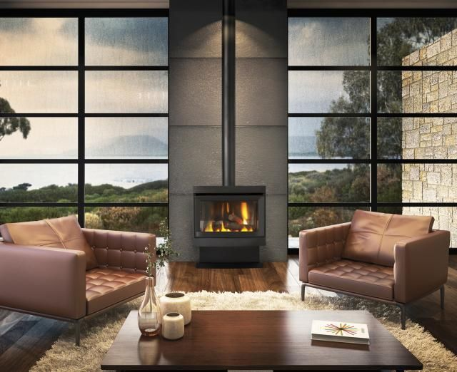 Cannon Gas Log Heaters | Canterbury Classic Freestanding Gas Heater