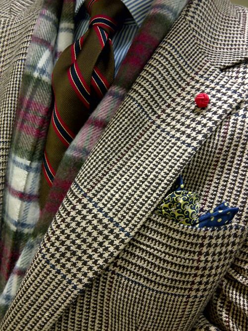 Houndstooth and Tartan