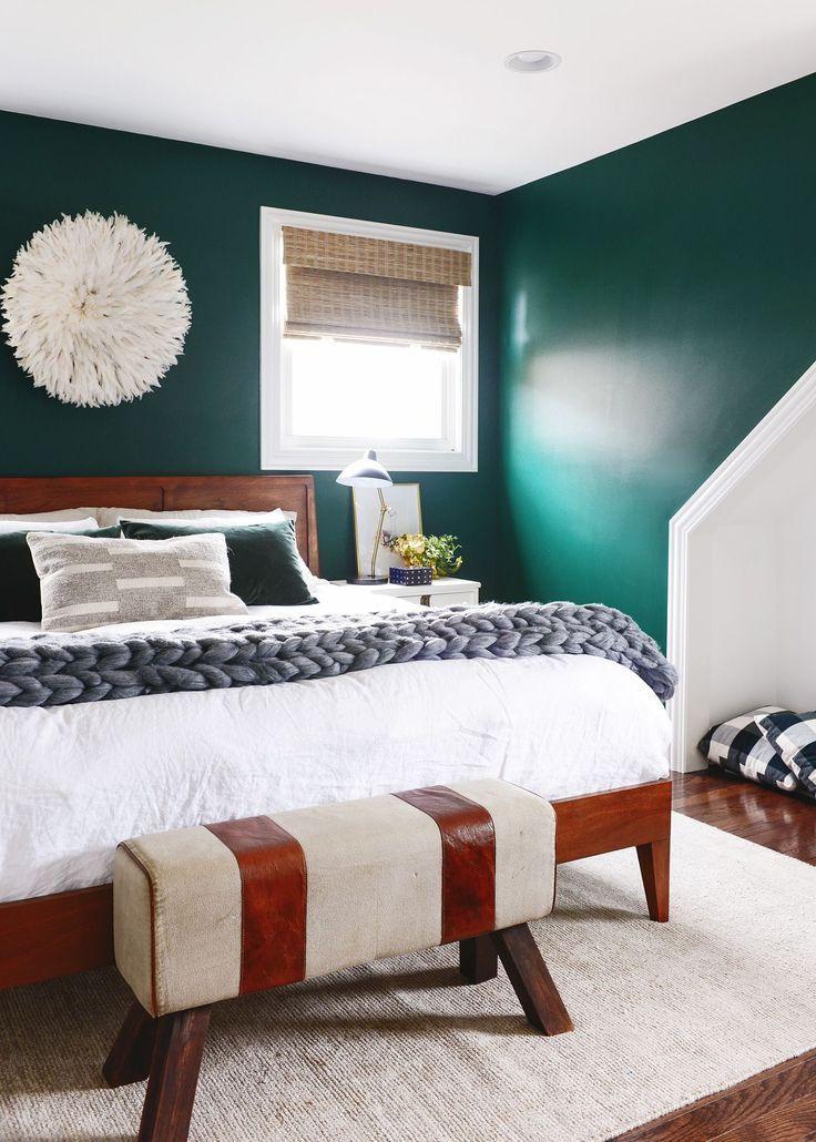 3 Big Dream Room Dream Team Makeovers Green Bedroom Walls Emerald Bedroom Green Bedroom Design
