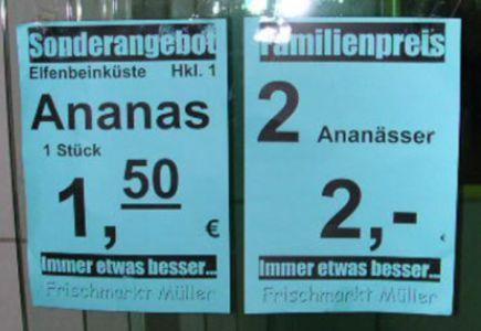 Deutsche Sprache - schwere Sprache - lustige Bilder 1